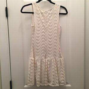 bebe Dresses - White BeBe mini dress